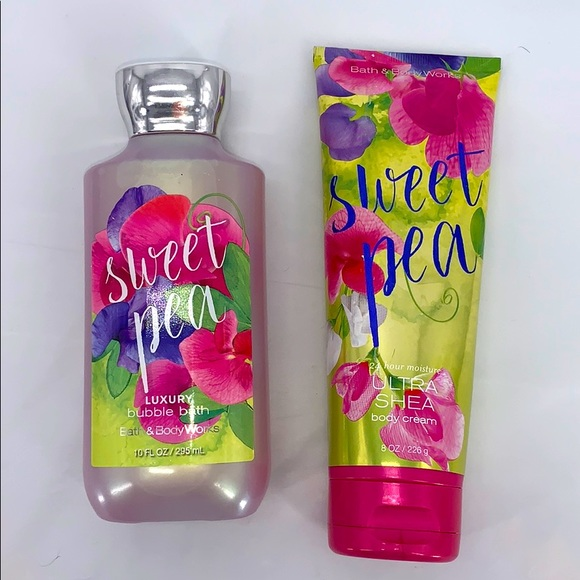 BBW Sweet Pea Set
